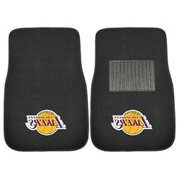 FANMATS 17608 NBA Los Angeles Lakers 2-Piece Embroidered Car