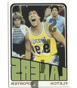1972 STCC Topps Fletch Chevy Chase Los Angeles Lakers card S