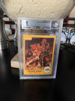 1983/84 Star LAKERS Complete Set ALL Graded Magic Kareem Wor