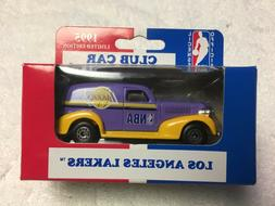 MATCHBOX 1995 LOS ANGELES LAKERS 1939 CHEVY CLUB DIECAST COL
