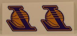 LOS ANGELES LAKERS  DIY Stickers Decals Great for YETI