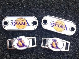 2 ~ Los Angeles Lakers NBA Paracord Charms Oval or Mini Dog