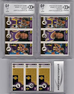 Shaquille Graded BCCG 10 GOLD FOIL 1996 Upper Deck LA LAKER
