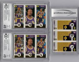 SHAQUILLE O'NEAL LA LAKERS GRADED BCCG 10 1996 UPPER DECK S
