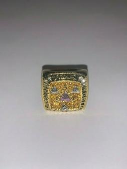 2002 Los Angeles Lakers Championship Bryant Replica Engraved