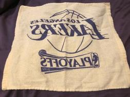 """2012 Los Angeles Lakers PLAYOFFS RALLY TOWEL  15""""  X 14"""""""