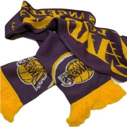 2x Los Angeles Lakers NBA Exclusive Scarf Purple Gold Game H