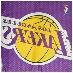 Amscan 513627 Los Angeles Lakers NBA Collection Luncheon Nap