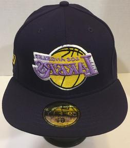 New Era 59Fifty Los Angeles Lakers Fitted Hats