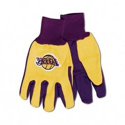 Adult Embroidered Work Sport Utility Gloves One Size Los Ang