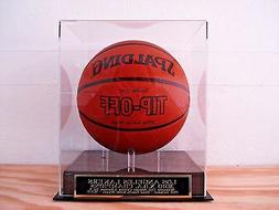 Los Angeles Lakers Basketball Display Case With A 2010 Champ