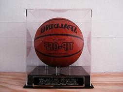 Los Angeles Lakers Basketball Display Case With A 2010 N.B.A