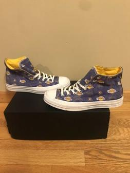 Chuck Taylor All-Star Los Angeles Lakers Size 9.5 Sneaker