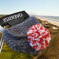 Custom Order Hand Knit Wool OVERSIZED PUTTER Cover