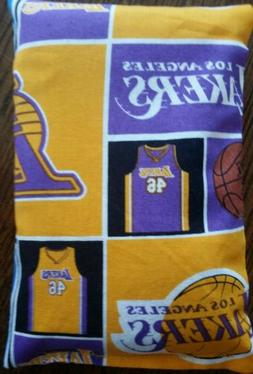 Homemade Bowling Grip Sack - Los Angeles Lakers