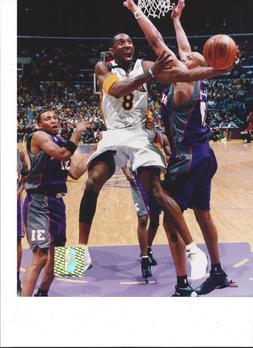 Kobe Bryant #9 Los Angeles Lakers Unsigned 8x10 Photo