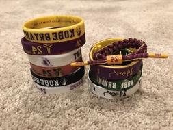 Kobe Bryant Los Angeles Lakers #24 Bracelet Lot