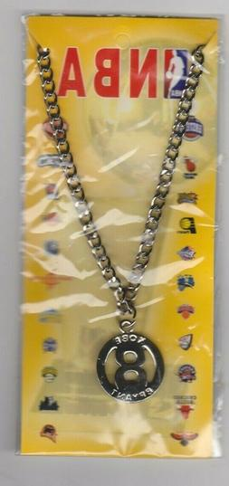 Kobe Bryant Los Angeles Lakers #8 Sealed Unopened Chain  wit