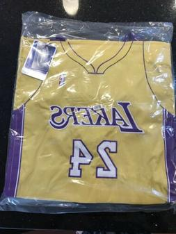 Kobe Bryant Los Angeles Lakers NBA #24 Jersey Tote Bag by Fo