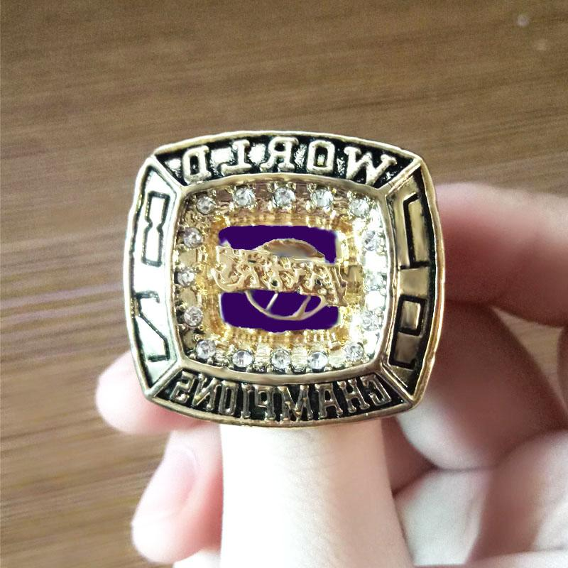 1982 Los Lakers Championship Ring Champions Size 8-13