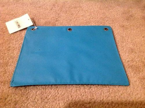 Charlotte Ring Binder Pouch Teal