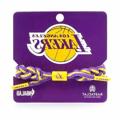 los angeles lakers bracelet braided fashion accessory