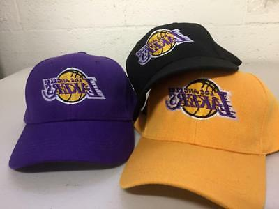 los angeles lakers cap la hat embroidered