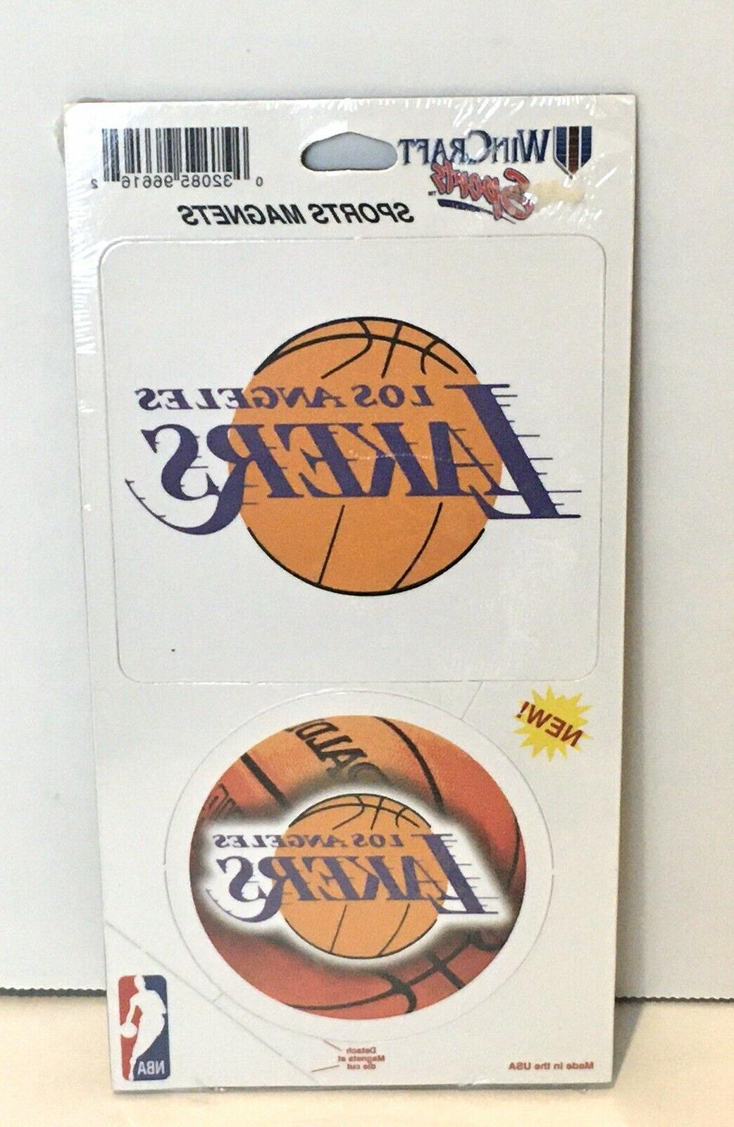 los angeles lakers logo magnet refrigerator basketball