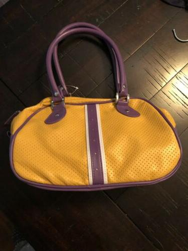 """Los Angeles Lakers Purse -Size 10""""x 5"""""""