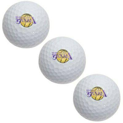 los angeles lakers pack of 3 golf