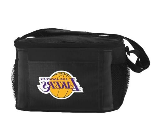 nba los angeles lakers lunch bag insulated