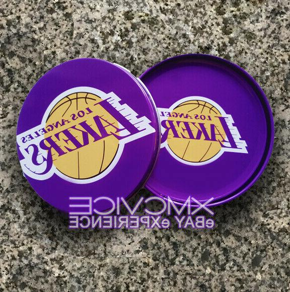 new official los angeles lakers collectable tin