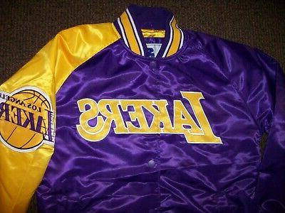 Official NBA Los Angeles Lakers Large Coat Jacket Patch FREE