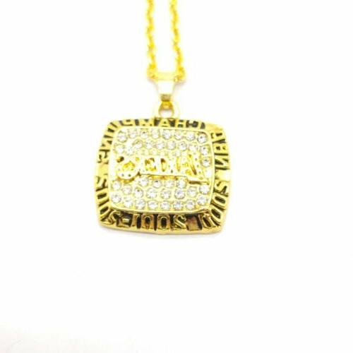 usa 2002 finals championship ring inspired pendant