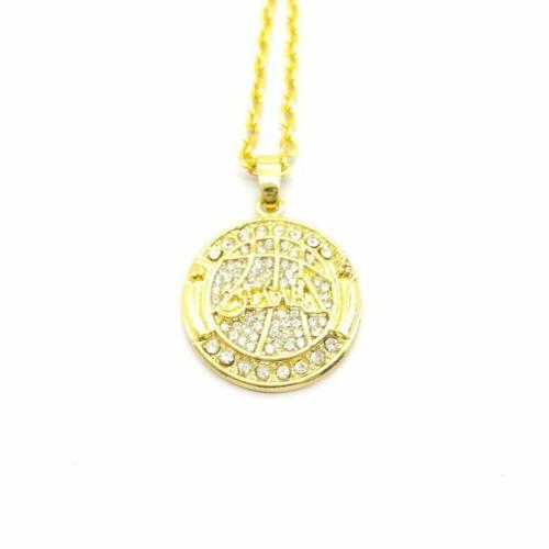 usa 2010 championship ring inspired pendant necklace