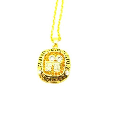 usa finals championship ring inspired pendant necklace