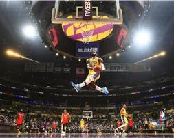 LeBron James Baseball Los Angeles Lakers THE DUNK Unsigned P