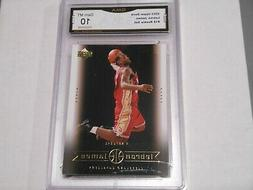 Lebron James GRADED CARD!! Gem Mint 10!! 2003 UD Box Set #18