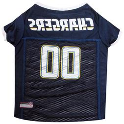 LOS ANGELES Chargers NFL mesh Pet Dog Game Jersey