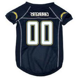 LOS ANGELES LA Chargers NFL mesh Pet Dog Game Jersey