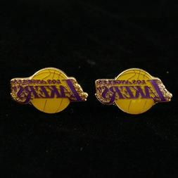 Los Angeles Lakers - NBA Team Logo Post Earrings