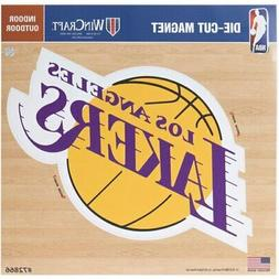 "Los Angeles Lakers 12"" x 12"" Car Magnet"