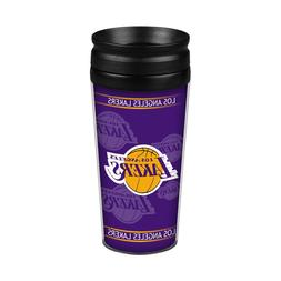 Los Angeles Lakers 14oz Full Wrap Travel Mug  Tumbler Coffee