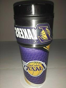Los Angeles Lakers 16 oz Travel Mug with Stainless Steel Top