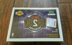 Los Angeles Lakers 2000-01 Champions Back 2 Back Upper Deck