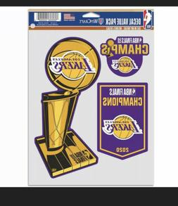 LOS ANGELES LAKERS WINCRAFT 2020 NBA FINALS CHAMPIONS 5'' X