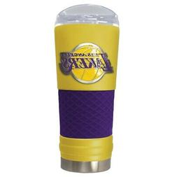 LOS ANGELES LAKERS 24 OZ. STAINLESS STEEL VACUUM INSULATED T