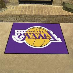 "Los Angeles Lakers 34"" x 43"" All Star Area Rug Floor Mat"