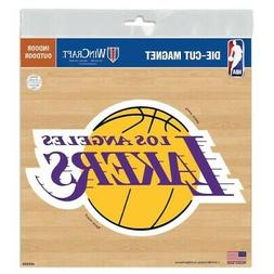 "LOS ANGELES LAKERS 6""X6"" DIE-CUT MAGNET FOR INDOOR OR OUTDOO"