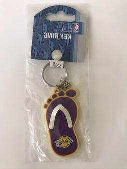 Los Angeles Lakers Aminco Rubber Foot Sandal Keychain  NBA K